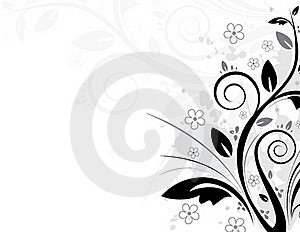 Floral Background Royalty Free Stock Image - Image: 17716956