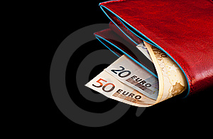Red Wallet Royalty Free Stock Photo - Image: 17718095