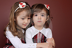 Two Sisters Royalty Free Stock Image - Image: 17718116