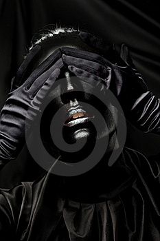 Absolutely Black Stock Images - Image: 17719474