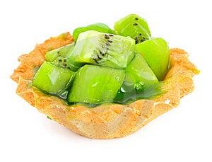 Cake With Fruit Royalty Free Stock Image - Image: 17719536