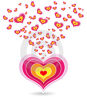 Pink Heart Stock Images - Image: 17722234