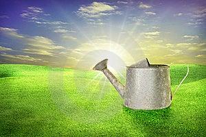 Watering Pot Stock Photos - Image: 17725273