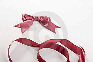 Bow And Tape Stock Photo - Image: 17727680