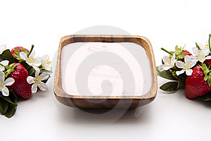 Strawberry Yogurt Stock Images - Image: 17737544