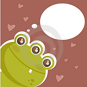 Cute Monster In Love Stock Image - Image: 17737831