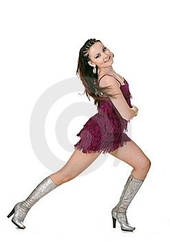 Cool Dancer Woman Royalty Free Stock Photo - Image: 17737865