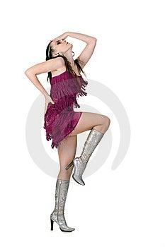 Cool Dancer Woman Royalty Free Stock Photos - Image: 17737878