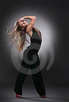 Cool Dancer Woman Stock Image - Image: 17737891