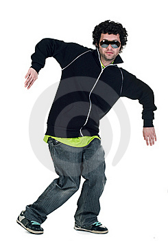 Cool Dancer Man Royalty Free Stock Images - Image: 17737899