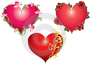 Red Hearts. Stock Photography - Image: 17738242