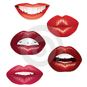 Lips. Royalty Free Stock Photos - Image: 17738328