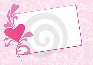 Valentine Floral  Card Royalty Free Stock Photo - Image: 17740505