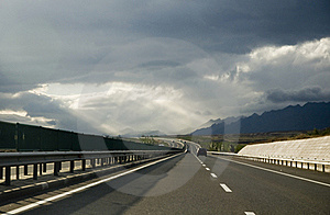 High-speed Highway Royalty Free Stock Images - Image: 17741779