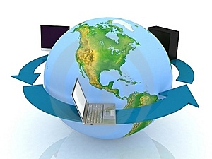 Global Network The Internet Stock Photos - Image: 17742853