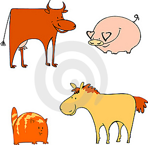 Farm Animals Royalty Free Stock Image - Image: 17743956