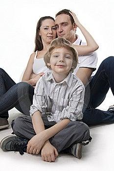 Family Lifestyle Portrait Royalty Free Stock Photo - Image: 17745145