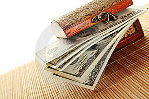 Chest Filled With One Hundred Dollar Bills Stock Photos - Image: 17745183