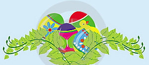 Easter Card Concept Royalty Free Stock Photo - Image: 17745405