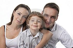 Family Lifestyle Portrait Stock Photography - Image: 17745912
