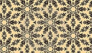 Seamless Damask Design Royalty Free Stock Images - Image: 17746409