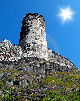 Castle Tower Stock Images - Image: 17749154