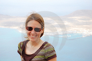 Woman In Lanzarote Royalty Free Stock Images - Image: 17749479
