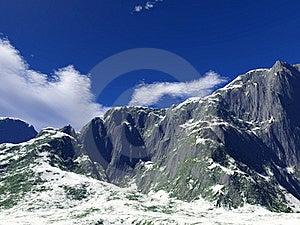 Winter Mountains Stock Image - Image: 17752901