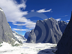 Winter Mountains Royalty Free Stock Photography - Image: 17752997