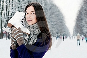 On The Ice Rink Stock Images - Image: 17755684