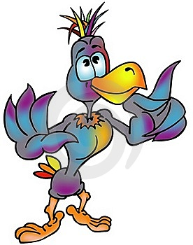 Rainbow Bird Royalty Free Stock Images - Image: 17755979