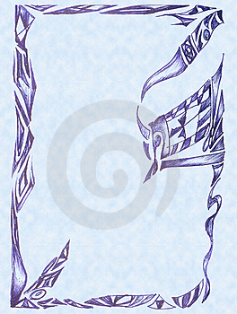 Background With Drawing Patterns Stock Photo - Image: 17756590