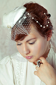 Portrait Of A Beauty Bride Stock Photography - Image: 17757292