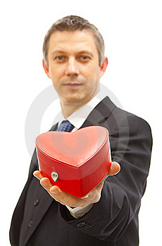 Valentine Present Royalty Free Stock Photo - Image: 17758035