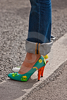 St Patrick's Day Shoes Royalty Free Stock Images - Image: 17760349