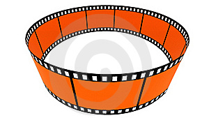 3d Blank Films Ring Royalty Free Stock Images - Image: 17761439
