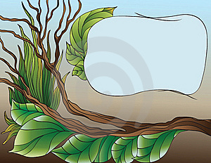 Branch And Leafs Royalty Free Stock Photography - Image: 17761917