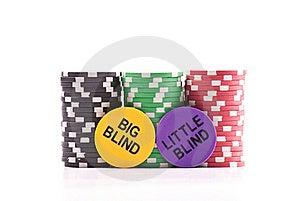 Big Blind, Little Blind Stock Photography - Image: 17762242