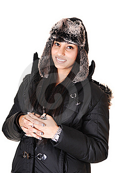Girl In Coat. Royalty Free Stock Image - Image: 17765906