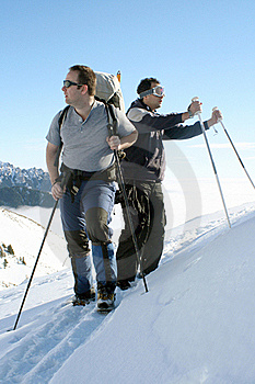 Trekking Men Resting Stock Photography - Image: 17771672