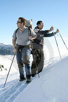 Trekking Men Resting Stock Photography - Image: 17771672