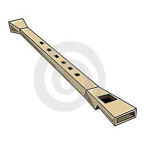 Flauta Foto de archivo - Imagen: 17772920