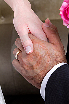 Hands In Marriage Stock Photo - Image: 17772990
