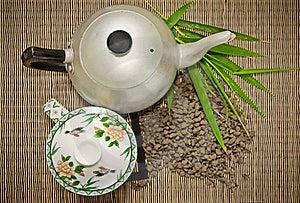 Tea Set Royalty Free Stock Photo - Image: 17777575