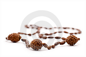 Wooden Necklace Royalty Free Stock Photos - Image: 17779798