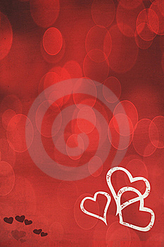Red Heart Background Royalty Free Stock Photo - Image: 17779985