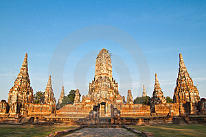 Ancient Pagoda-Ayutthaya Thailand Stock Photography - Image: 17783022