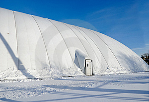 Inflatable Sports Stadium Stock Photography - Image: 17784972