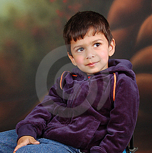 Boy Who Thinking Deeply. Stock Image - Image: 17785781