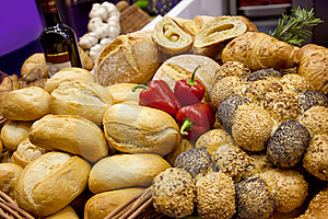 Bread Background Stock Photo - Image: 17791970
